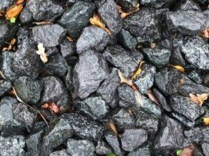 Sorte granitskærver 32-64 cm