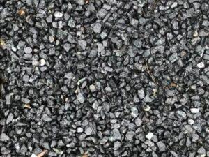 Sorte granitskærver 8-11 cm