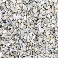 Hvide granitskærver 8-11 cm